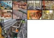 Servicio de asesoria e instalacion de agua y desague drenaje