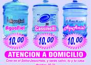 Agua de mesa de 20 litros