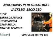 Martillo jackleg seco 250 con barra de avance