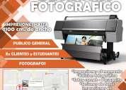 Atencion fotografos hacemos impresiones y edicion fotografica en papel de calidad