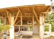 Proyectos en bambu, casas de campo, recreos, restaurantes, bungalos