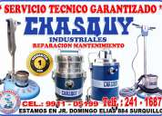 servicio tecnico de aspiradoras y lustradoras // chasquy // domesticas e industriales 241-1687