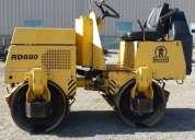 alquiler  y venta de rodillos compactadores 1.5 toneladas wacker neusson 4252269
