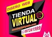 Desarrollo profesional de pagina web profesional+51997241599