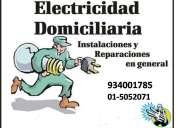 *INSTALACIONES ELECTRICAS*  ELECTRICISTA A DOMCILIO LAS 24 HRS 991473178 - 2711936
