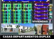 DiseÑo de viviendas, restaurantes, pollerias, hoteles, jaz arquitecto