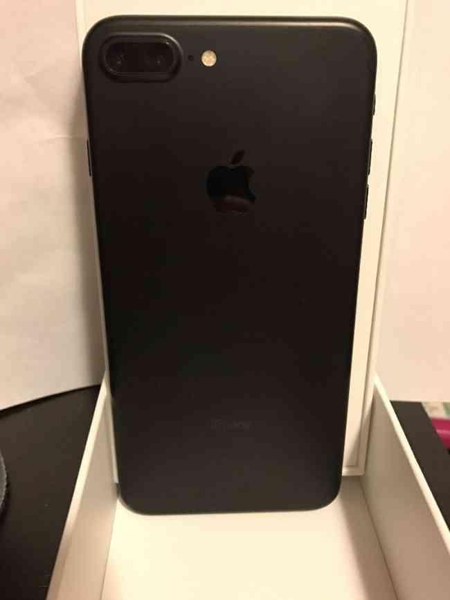 Apple iPhone 7 Plus 4G Teléfono (256 GB, negro mate)