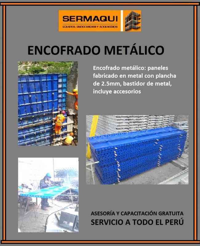 SUPER REMATE DE ENCOFRADO METALICO DE 2DO USO, MODELO UNISPAN