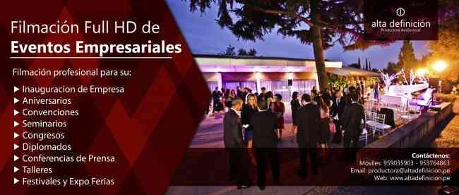 Videos Institucionales - Videos para Empresas, Lima, Peru,