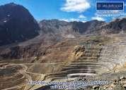 Filmación y fotografías con drone para empresas mineras