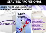 945065187 servicio tÉcnico  lavadoras kenmore* 2565734 lima-surco