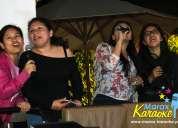 Marax karaoke a domicilio y corporativo lima