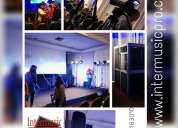 Traduccion equipos para eventos todo peru. www.intermusicpro.com  cel. 997163010