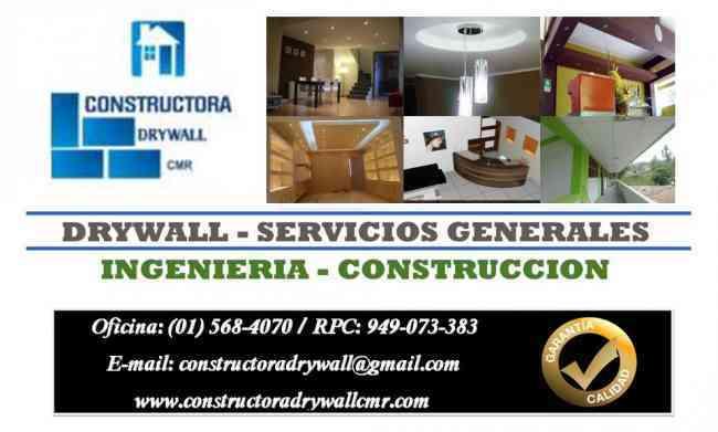 EXPERTOS EN SISTEMA DRYWALL PARA DEPARTAMENTOS Y OFICINAS Y AMPLIACIONES 949073383