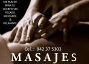 masajes tantricos y sensitivos para hombres una experiencia única