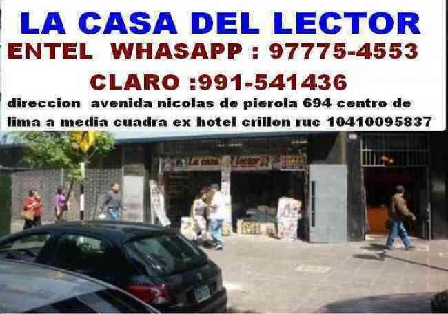 COMPRO LIBROS USADOS DE TODA CLASE,GENERAMOS EL MEJOR PRECIO DEL MERCADO