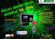 Reloj biometrico /maxsotec eirl/solicÍtelos 5661338