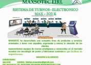 Sistemas de colas /300 k - 305 k/maxsotec eirl/solicÍtelos 5661338