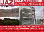 Arquitectos y agentes inmobiliarios, casas, locales, terrenos