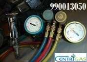 Certificados de instalación con manómetros calibrados