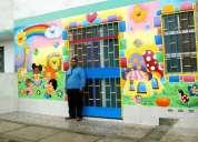 Pintor de murales infantiles