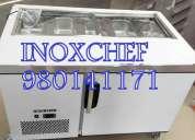 Mesas frÍas congeladores conservadoras acero inox stock 2455930