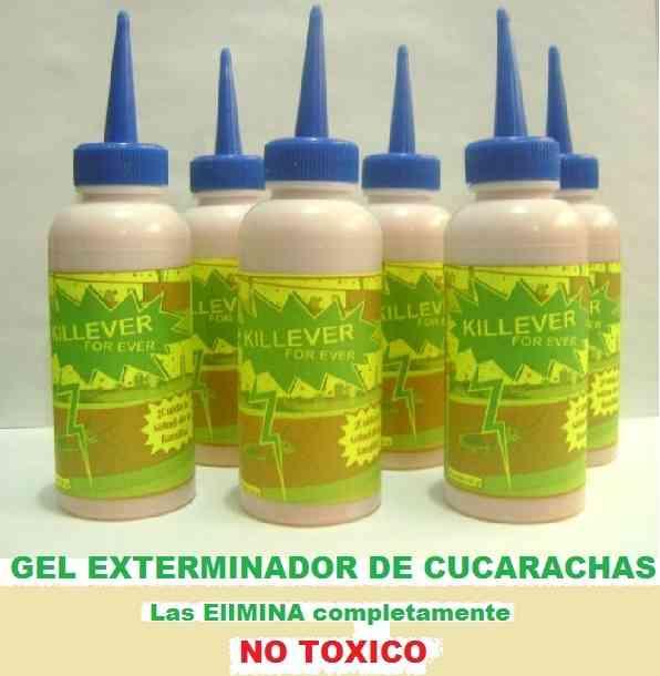 Fumigaciones especiales con gel killever para eliminar cucarachas