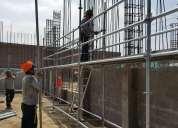 Venta andamios multidireccionales normados y certificados venta y alquiler andamios de  fachada