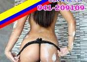 Jimena colombiana 20 aÑitos  salidas a hoteles frente al mega plaza o por izaguirre 941-209109