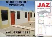 Modulos de vivienda, casas, departamentos, planos en general