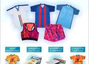 Servicio de sublimado - camisetas deportivas