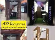 Stand, modulo, decoración de tiendas, gigantografía, panel, btl