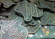 Medallas llaveros en metal en general