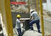 Contamos con técnicos seleccionados, para darles la garantía de su instalación.