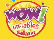 Wow inflables y snack's