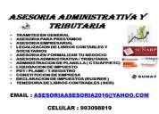 Asadtrib - asesoria administrativa y tributaria