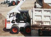 Alquiler de motoniveladora rodillo cargador frontal volquete tractor d7 d8 excavadoras retroexcavado