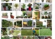 Jardineria y areas verdes macetas y plantas