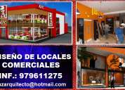 DiseÑo de locales comerciales, diseÑo de interiores, chiclayo, jaen, bagua grande
