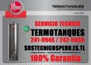 100% servicio técnico termotanques rheem eléctricas a gas (sos**241-9946)