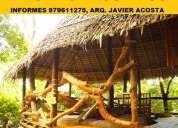 DiseÑo y construccion en bambu y madera, chiclayo, jaen, bagua grande, chachapoyas