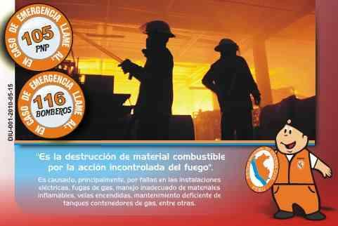 Alarma Contra incendio Normada
