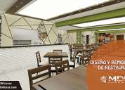 DecoraciÓn de restaurantes en lima