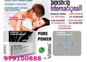 Erecciones duraderas viamax pure power los olivos telf 979150888