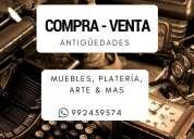 Compro antigüedades en la libertad-huamachuco, porcelana, relojes, muebles y demás