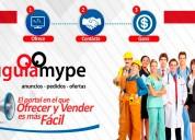Reconoce tu negocio en nuestro portal - guía mype