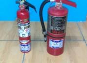 Extintores con certificacion ul recojo y entrega gratis recarga