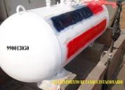 Mantenimientos de tanques estacionarios de gas glp