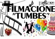 Filmacionestumbes servicio de videos paras eventos en tumbes 99.00 s/.