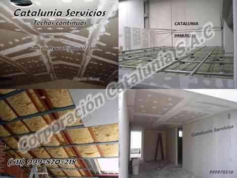 Construcciones e Instalaciones con el Sistema Drywall.